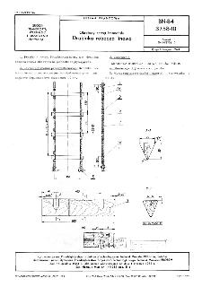 Okrętowy sprzęt bosmański - Drabinka robocza linowa BN-84/3758-10