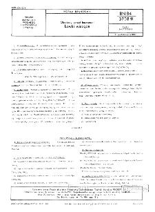 Okrętowy sprzęt bosmański - Ławki wiszące BN-84/3758-11