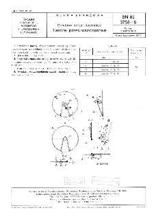 Okrętowy sprzęt bosmański - Tarcze przeciwszczurowe BN-85/3758-18