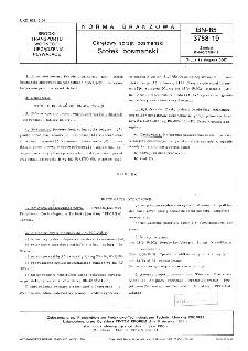 Okrętowy sprzęt bosmański - Stołek bosmański BN-85/3758-19