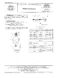 Pławki kotwiczne BN-85/3758-23