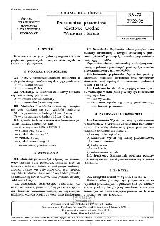 Prądownice pożarnicze okrętowe wodne - Wymagania i badania BN-79/3762-02