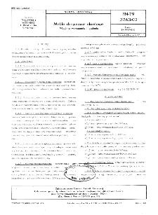 Meble drewniane okrętowe - Wspólne wymagania i badania BN-79/3763-02