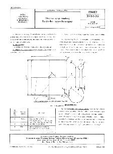 Okrętowy sprzęt ratunkowy - Lusterko sygnalizacyjne BN-82/3765-02