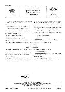 Okrętowy sprzęt ratunkowy - Czerpak i miarka do wody pitnej BN-82/3765-05
