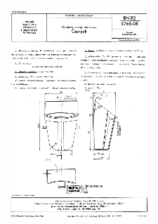Okrętowy sprzęt ratunkowy - Czerpak BN-82/3765-08