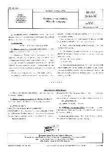 Okrętowy sprzęt ratunkowy - Worek olejowy BN-82/3765-10
