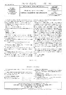 Okrętowy sprzęt ratunkowy - Tablice sygnałów ratunkowych BN-87/3765-11