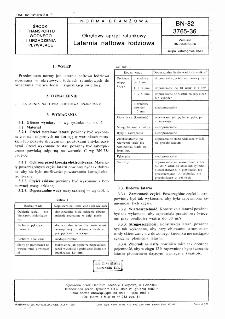 Okrętowy sprzęt ratunkowy - Latarnia naftowa łodizowa BN-82/3765-36
