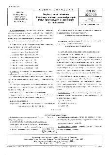 Okrętowy sprzęt ratunkowy - Podstawy stalowe pneumatycznych tratw ratunkowych z osprzętem do mocowania BN-82/3765-39