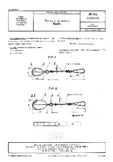 Okrętowy sprzęt ratunkowy - Rzutki BN-82/3765-44