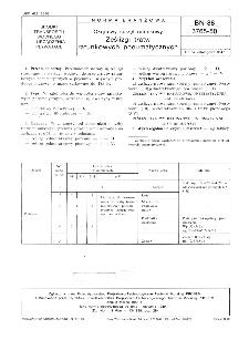 Okrętowy sprzęt ratunkowy - Ześlizgi tratw ratunkowych pneumatycznych BN-88/3765-50