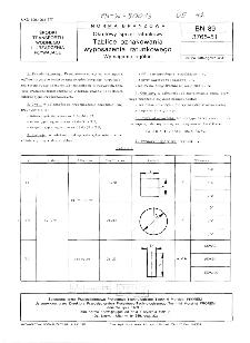 Okrętowy sprzęt ratunkowy - Tablice oznakowania wyposażenia ratunkowego - Wymagania ogólne BN-89/3765-51