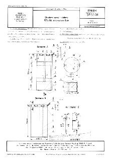Okrętowy sprzęt hotelowy - Worki marynarskie BN-84/3766-01