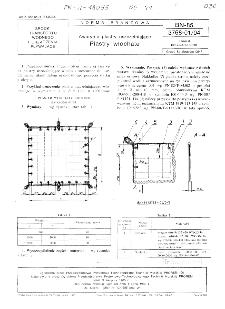 Awaryjne plastry uszczelniające - Plastry włochate BN-85/3768-01/04