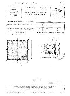Awaryjne plastry uszczelniające - Plastry kolczugowe BN-85/3768-01/06