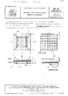 Awaryjne plastry uszczelniające - Plastry sztywne BN-85/3768-01/07