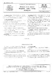 Okrętowy sprzęt awaryjny - Rozpórki, korki i kliny awaryjne BN-86/3768-02