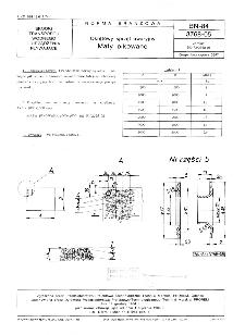 Okrętowy sprzęt awaryjny - Maty pikowane BN-84/3768-05