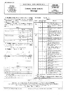 Okrętowy sprzęt awaryjny - Naciągi BN-84/3768-06