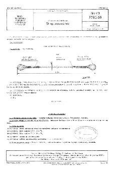 Urządzenia kotwiczne - Strop szczeciński BN-73/3782-09