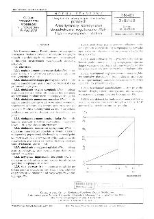 Urządzenia sczepiające zestawów pchalnych - Amortyzatory sprężynowe dwuskokowe regulowane ASR - Ogólne wymagania i badania BN-90/3782-23
