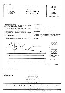 Urządzenia kotwiczne - Uchwyt podłużny DOR=3200 kG BN-73/3782-25