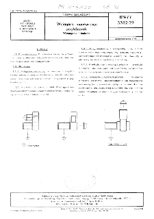 Wciągarki manewrowe pogłębiarek - Wymagania i badania BN-77/3782-27