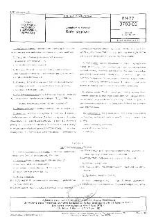 Urządzenia sterowe - Koła sterowe BN-77/3783-02