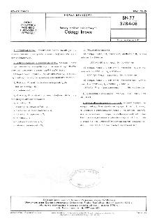 Maszty statków śródlądowych - Odciągi linowe BN-77/3784-08