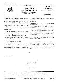 Uchwyty latarń sygnałowo-pozycyjnych statków śródlądowych - Wymagania ogólne BN-79/3784-09.00