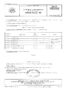 Uchwyty latarń sygnałowo-pozycyjnych statków śródlądowych - Uchwyty topowe NU BN-79/3784-09.12