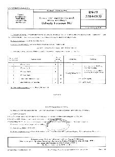 Uchwyty latarń sygnałowo-pozycyjnych statków śródlądowych - Uchwyty trzonowe NU BN-79/3784-09.13