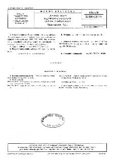 Uchwyty latarń sygnałowo-pozycyjnych statków śródlądowych - Wahacze NU BN-79/3784-09.15