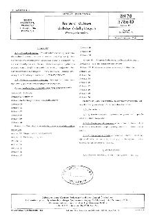 Barierki stalowe statków śródlądowych - Wymagania ogólne BN-78/3786-10 Arkusz 01