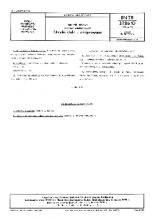 Barierki stalowe statków śródlądowych - Stojaki stałe i zdejmowane BN-78/3786-10 Arkusz 11.