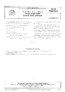 Barierki stalowe statków śródlądowych - Stojaki zdejmowane barierek barek pchanych BN-81/3786-10.13
