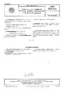 Barierki stalowe statków śródlądowych - Podstawy stojaków zdejmowanych barierek barek pchanych BN-81/3786-10.14