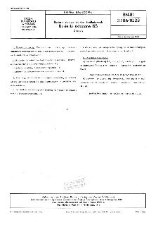 Barierki stalowe statków śródlądowych - Barierki składane BS - Zespoły BN-81/3786-10.23