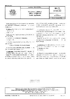 Wyposażenie pokładowe statków śródlądowych - Laski pychowe BN-79/3786-20
