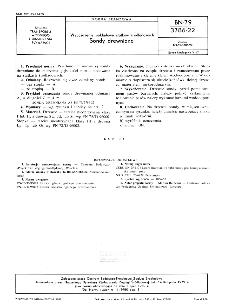 Wyposażenie pokładowe statków śródlądowych - Sondy drewniane BN-79/3786-22