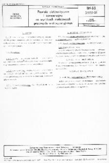 Powłoki elektrolityczne i konwersyjne na wyrobach metalowych przemysłu motoryzacyjnego BN-83/3602-01