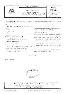 Wyposażenie pokładowe statków śródlądowych - Gniazda do drążków flagowych BN-79/3786-26