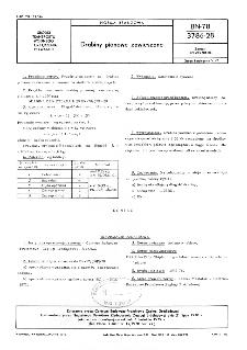 Drabiny pionowe zawieszane BN-78/3786-28