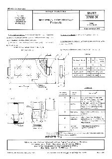 Sprzęt awaryjny statków śródlądowych - Poduszki BN-82/3788-01