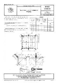 Sprzęt awaryjny statków śródlądowch - Płachty BN-82/3788-04