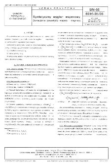 Syntetyczny węglan wapniowy - Oznaczanie zawartości wapnia i magnezu BN-86/6016-05/06