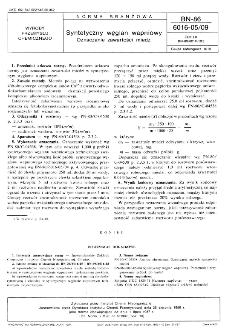 Syntetyczny węglan wapniowy - Oznaczanie zawartości miedzi BN-86/6016-05/09