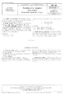 Syntetyczny węglan wapniowy - Oznaczanie zawartości wilgoci BN-86/6016-05/11