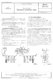 Gazy szlachetne - Oznaczanie zawartości azotu BN-69/6017-04